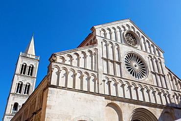 Cathedral of St. Anastasia, Zadar, Croatia.