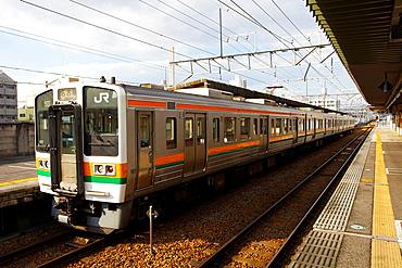 Mikawa Toyota Station, Toyota City, Aichi Prefecture, Japan.