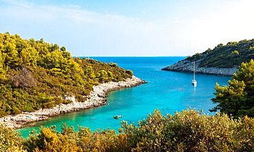 Zitna bay near Zavalatica, Croatia.