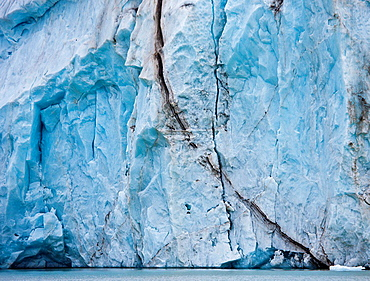 14th of July Glacier, Spitsbergen Island, Svalbard, Norway.