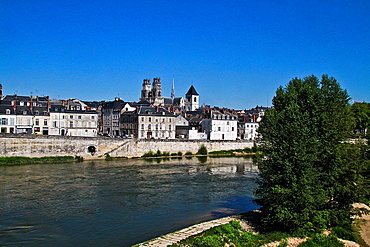 Orleans and Loire river, France, Europe.