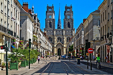 Cathedrale Ste-Croix, Orleans, Loire Valley, France.