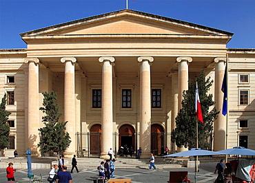 Malta, Valletta, Law Courts.