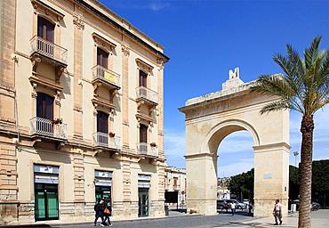 Italy, Sicily, Noto, Porta Reale.