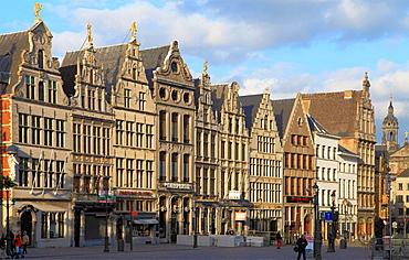 Belgium, Antwerp, Grote Markt, City Square.