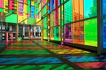 Canada, Quebec, Montreal, Palais des congres, convention centre,.