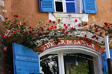 Medieval village of Bargemon, Var, 83, Provence, PACA, France.