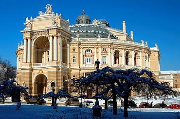 Opera and ballet theater, Odessa, Ukraine, Eastern Europe.