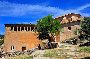 Collegiate church, Alquezar, Huesca province, Spain