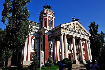 Ivan Vassov National Theatre, Sofia, Bulgaria