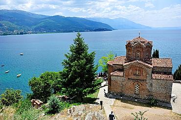 Orthodox Church of St. John Kaneo, Orhid, Macedonia