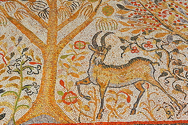 Byzantine Mosaics, IV-VI centuries AD, Heraclea Lincestis, Macedonia