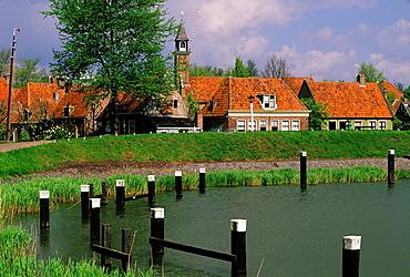 Netherlands, Ijsselmeer, Enkhuizen, Zuider Zee Museum.