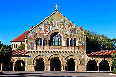 Memorial Church, on the main quad, Stanford University, Stanford, California, United States of America.