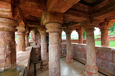 Ancient Temples of Kalachuri period. Amarkantak, Madhya Pradesh, India. Constructed by Kalachuri Maharaja Karnadeva between 1042 and 1072 AD. These temples are situated just at the back of the Narmadakund towards the south.