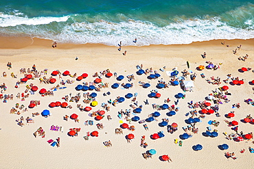 Leblon Beach, Rio de Janeiro, Brazil