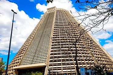 Sao Sebastiao Metropolitan Cathedral, Lapa neighborhood, Rio de Janeiro, Brazil