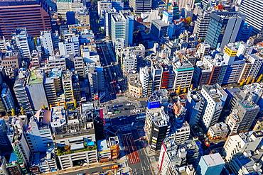 Japan, Tokyo City, Minato Ku, Daimon area.