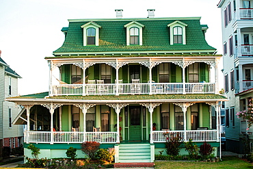 Many Victorian homes have been converted into Bed and Breakfast hotels in Cape May.