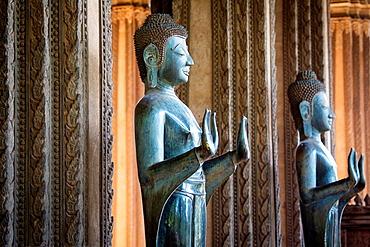 Wat Ho Phra Keo temple in Vientiane, Laos.