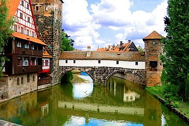 Nuremberg Castle Nurnberg Germany Deutschland DE.
