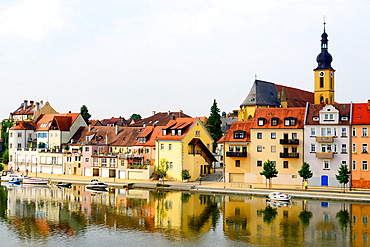 Main River Kitzingen Germany Bavaria Deutschland DE Bavaria.