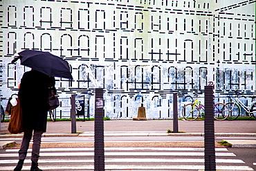 Street in Nantes, France.