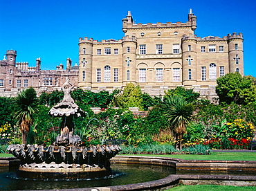 Culzean castle. Ayrshire, Scotland, UK