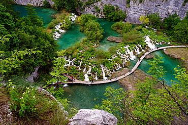 Plitvice Lakes National Park, Unesco World Heritage, natural site, Croatia, Europe