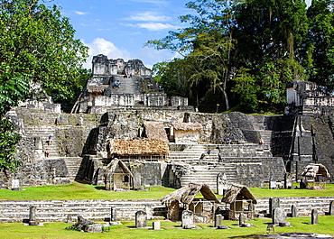 North Acropolis, Tikal, Guatemala