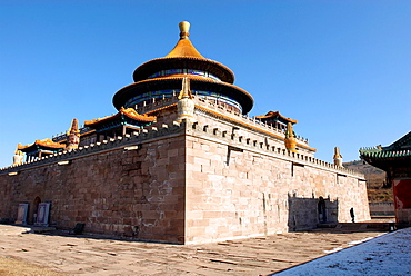China, Hebei Chengde, summer residence of the Manchu Emperors of the early Qing Dynasty, Pule Temple, the temple of universal joy built in 1766, listed as a World Heritage by UNESCO