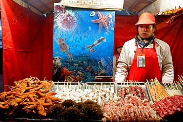 Food market, Beijing, China