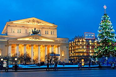The Bolshoi Theatre  Moscow, Rusia