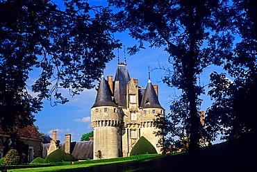 Castle of Fraze, Eure & Loir department, region Centre, France, Europe.