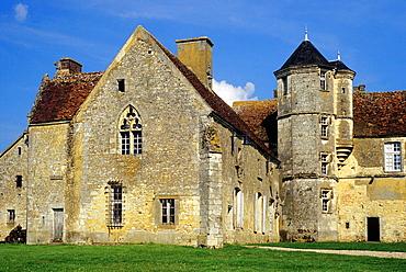 Priory Sainte-Gauburge, Saint-Cyr-la-Rosiere, Regional Natural Park of Perche, Orne department, Lower Normandy region, France, Western Europe.