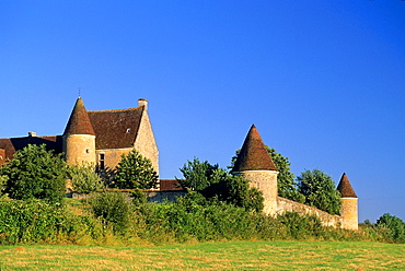 La Moussetiere manor house, Boissy-Maugis, Regional Natural Park of Perche, Orne department, Lower Normandy region, France, Western Europe.