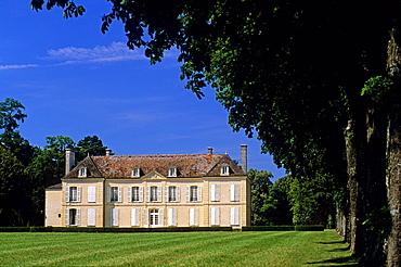 Loriere Castle, La Rouge, Regional Natural Park of Perche, Orne department, Lower Normandy region, France, Western Europe.