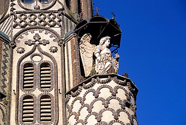 Notre-Dame de la Salette church, Maletable, Regional Natural Park of Perche, Orne department, Lower Normandy region, France, Western Europe.