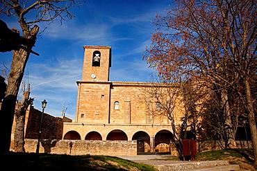 Garinoain church. Garinoain. Navarre. Spain.
