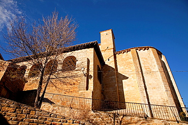 San Martin de Tours church, S. Martin de Unx. Navarre. Spain.