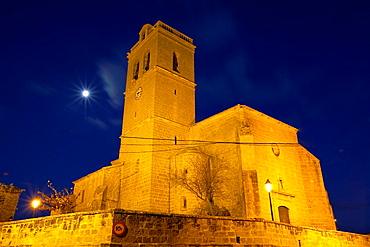 Murillo del Fruto church. Navarre. Spain.