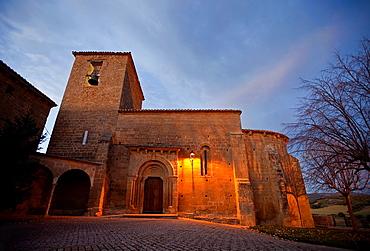 Orisoain church, Valdorba. Navarre. Spain.