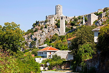 pocitelj, ancient town, bosnia and herzegovina, europe.