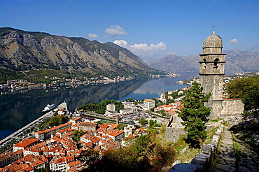 Kotor,old town,Chapel of Our Lady of Salvation,after 1572,Kotor Bay,Montenegro