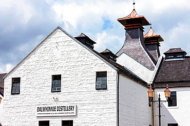 Dalwhinni Distillery, Inverness-shire, Scotland.