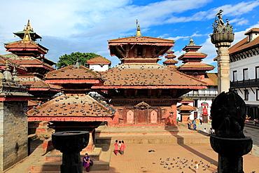 Jagannath Temple, Durbar square, Kathmandu, Nepal.
