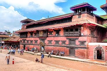 Royal Palace Complex, Durbar Square, Patan, Lalitpur, Nepal.