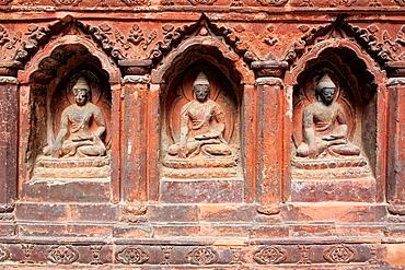Buddhist Mahabouddha Temple (1585), Patan, Lalitpur, Nepal.