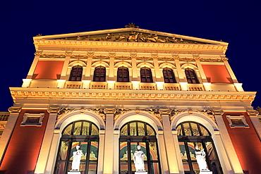 Wiener Musikverein, concert hall, Vienna, Austria.
