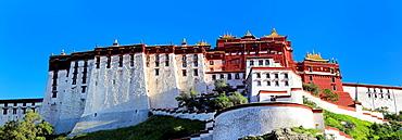 Potala Palace, Lhasa, Tibet, China.